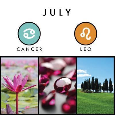 July birth symbols