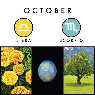 October birth symbols