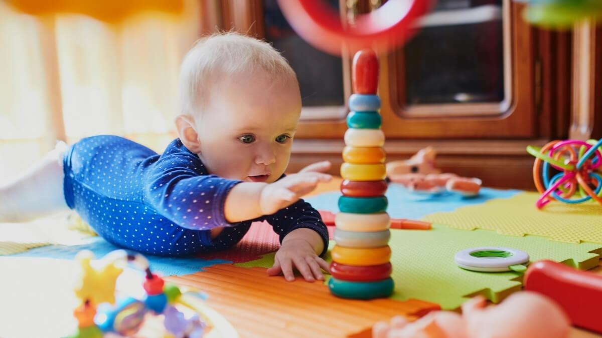 Toys for a 4 Month Old Baby