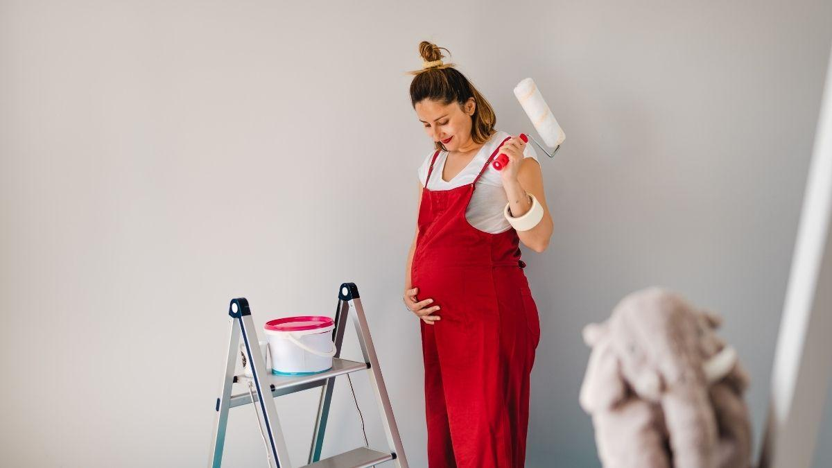 Painting While Pregnant