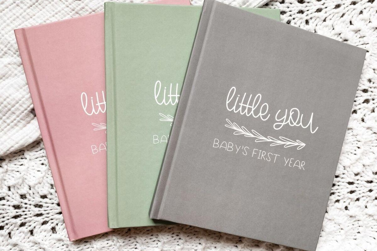 First Year Baby Book | Baby Journal and Memory Book