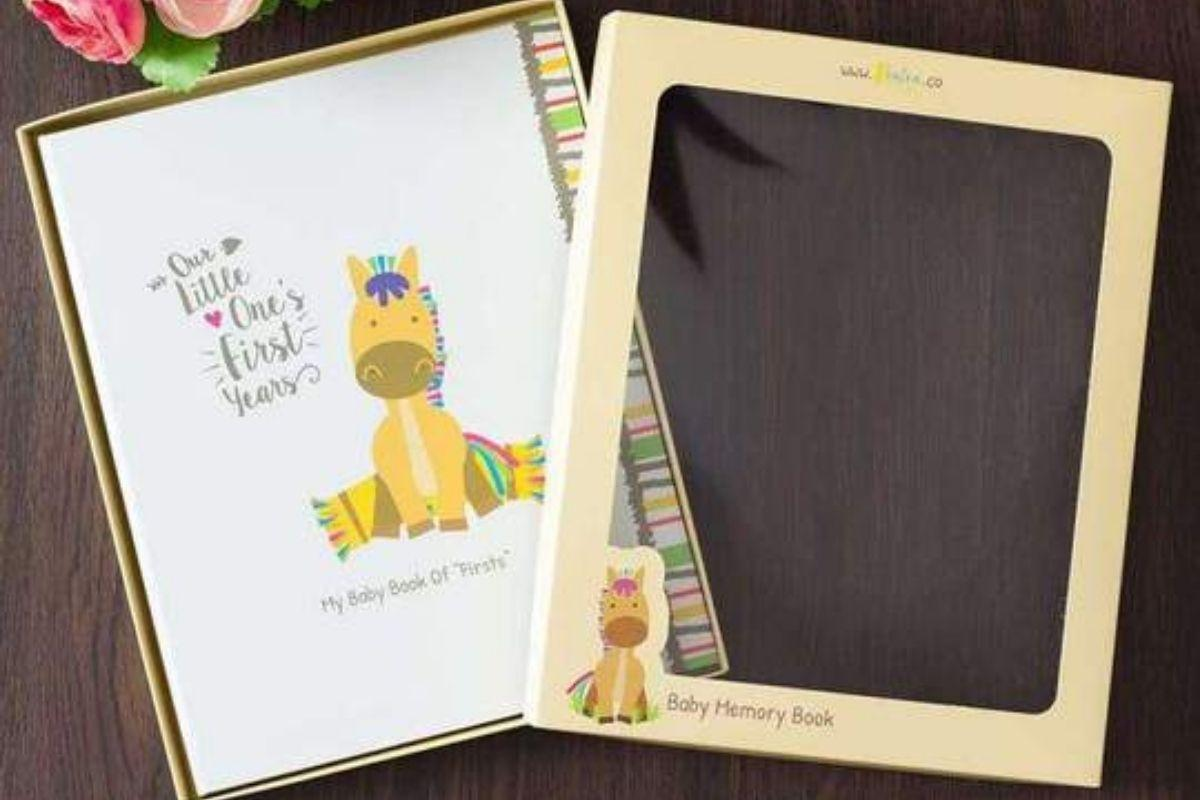 Baby Memory Book for Boys & Girls by Ronica