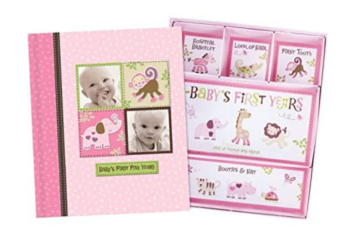 *Baby Girl Memory Book Scrapbook Photo Picture Album by New Seasons