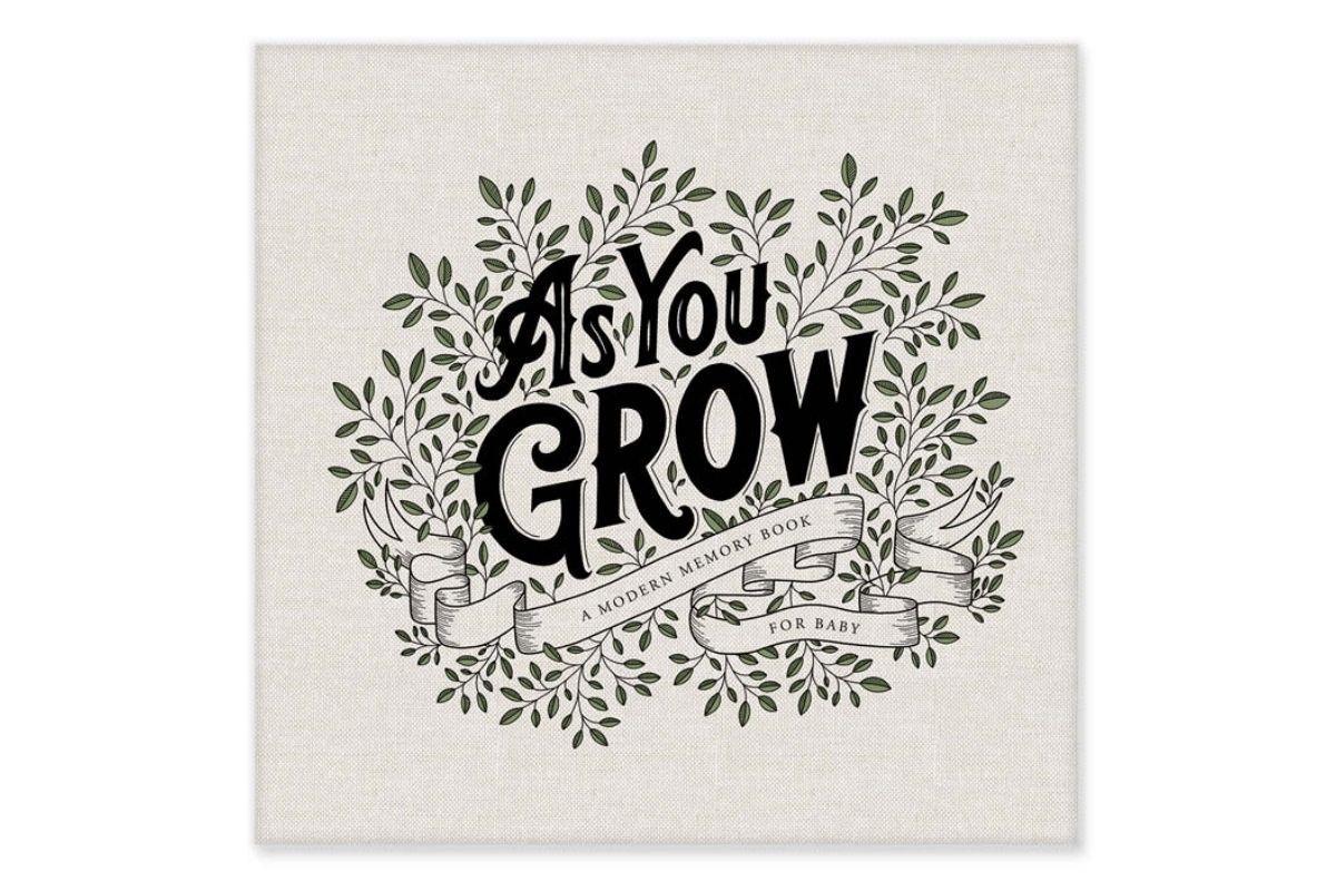 As You Grow Memory Book by Korie Herold