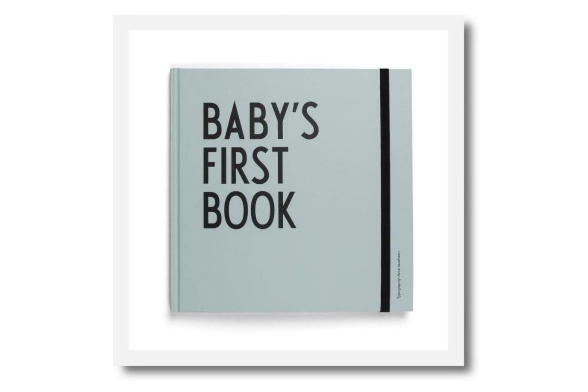 Baby's First Book by Design Letters