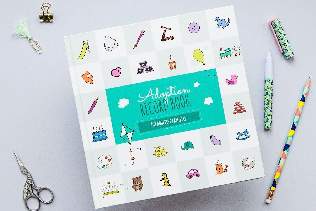 Adoption Record Book for Adoptive Families by Little Pickle Memories