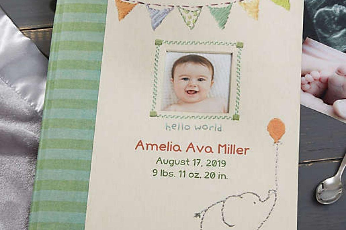 Made With Love Personalized Baby Memory Book by buybuyBABY