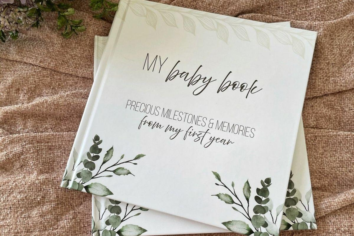 My Baby Book: Precious Milestones & Memories from My First Year by Memory Lane Prints