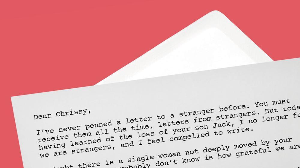 Chrissy Teigen Letter Miscarriage
