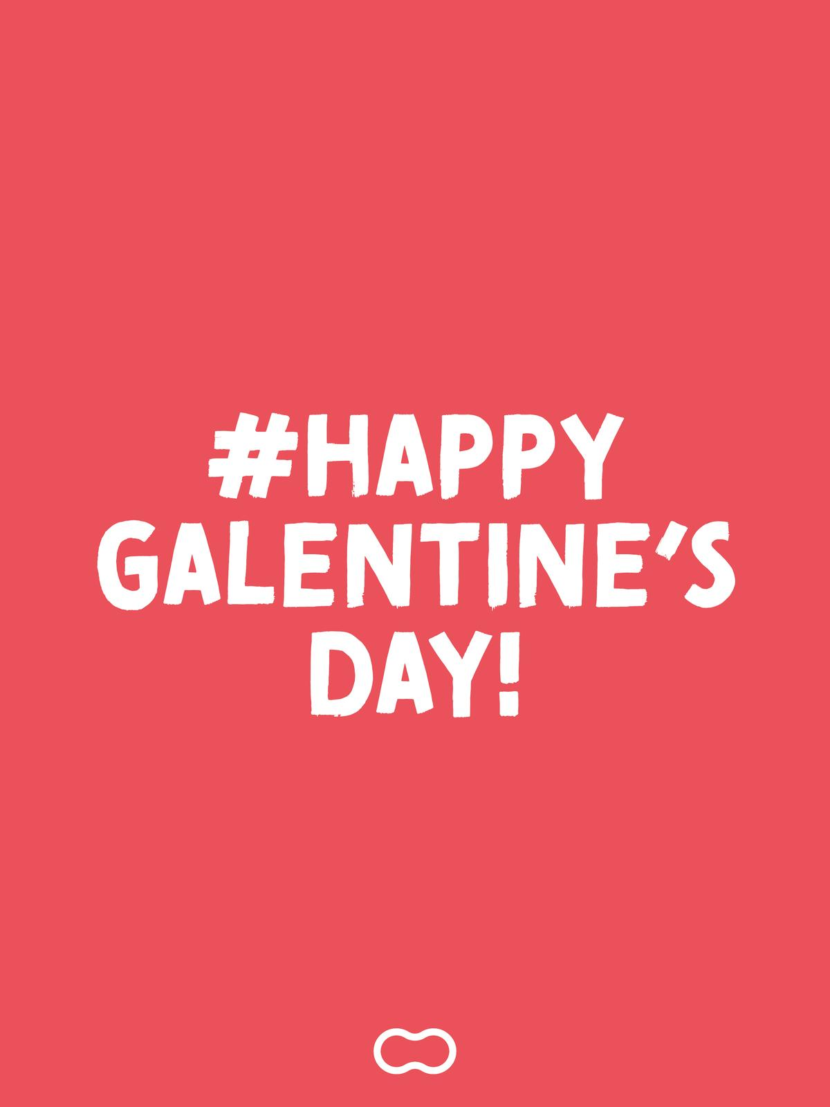 Galentine's day virtual card