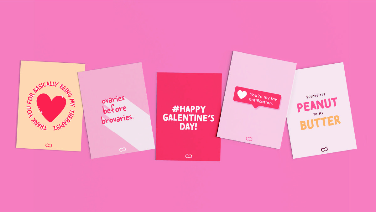 Galentine's Day e-cards